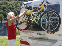 Bakmonterte sykkelholdere
