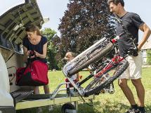 Frontmonterte sykkelholdere