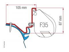 Fiamma Adapter Westfalia Kepler VW T6 LR  - F35 Pro