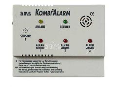 AMS gass kombinasjonsalarm enhet