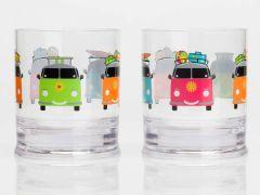 Drikkeglass med - Biler motiv