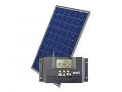 Kronings Solpanel 100 watt komplett