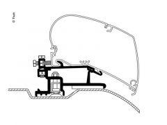 Thule Adapter Fiat/Peugeot/Citroen fra 2007 - 3 dele