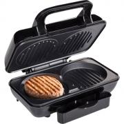 transportabel el-grill til  bl.a. hakkebøffer