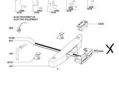 Dometic betjeningspanel med temperaturføler - AES4