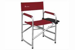 Instruktørstol med sidebord, Rød