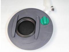 Lukkemekanisme til avfallstank