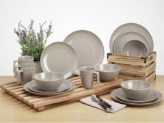 Seramika Latte Dinner Set - 16 deler