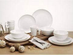 Seramika Vanilla Dinner set 16 dele