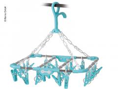 Tørkestativ karusell med klemmer