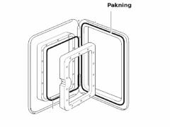 Thetford Pakning Modell 3