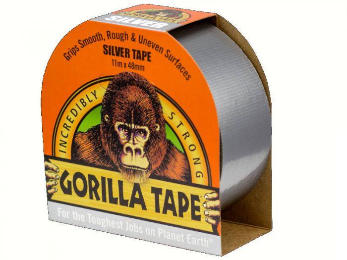 Gorilla Tape 32 meter Silver