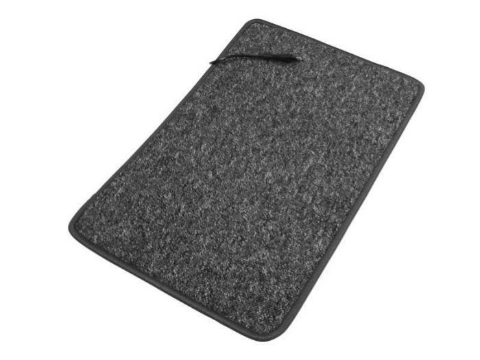 230 V gulvteppe med varme antracit