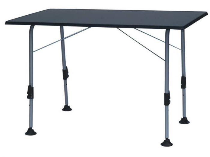 Campingbord Antrasit 80x60 cm