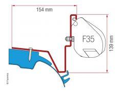 Fiamma Adapter Westfalia Jules Verne Mercedes Vito - F35 Pro