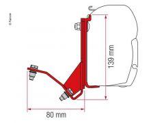 Fiamma Adapter Kit til Ducato/Boxer/Jumper/Hymer Car og Pössl