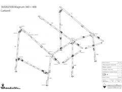 Isabella CarbonX CMM-kryssm. B-stang Magnum/Minor