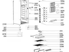 Låsepal Dometic kjøleskap RML9430